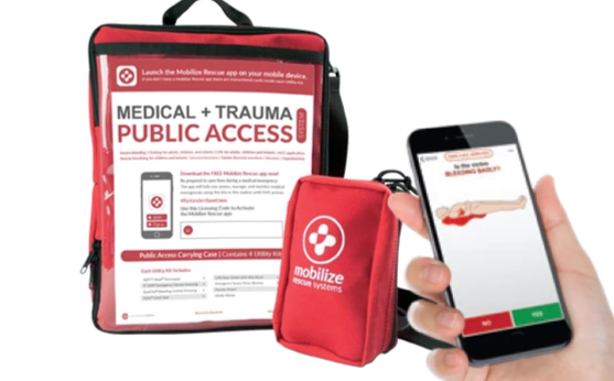Mobilize Rescue - Public Access UTILITY Kits