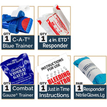 STOP THE BLEED Trainer with CAT Tourniquet