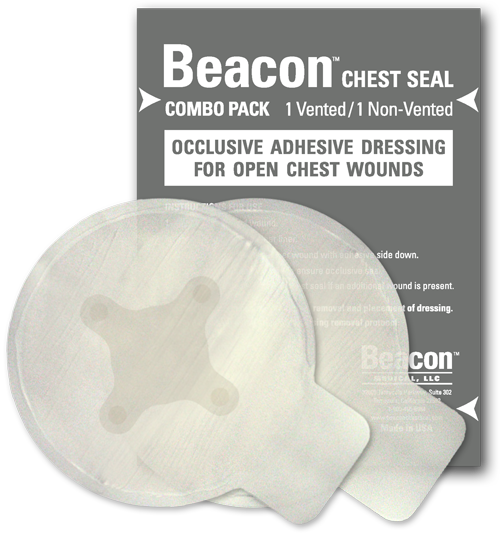 Beacon Chest Seal - Combo  (1 Vented/1 Non -Vented)