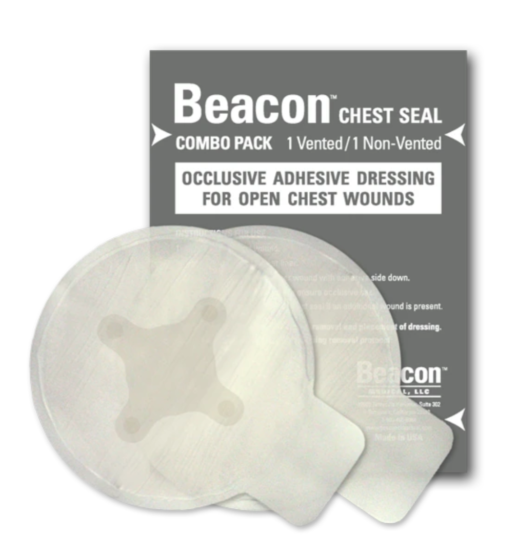 Copy of Beacon Chest Seal - Combo  (1 Vented/1 Non -Vented) SALE 12.43