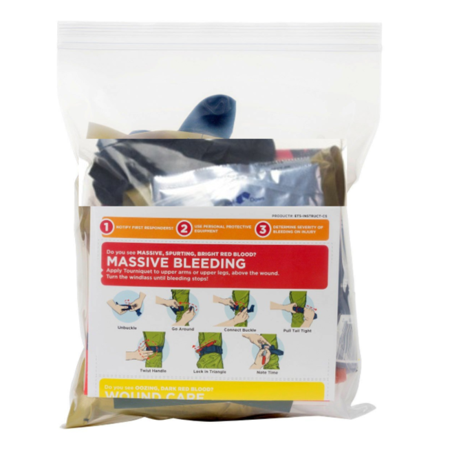 * TACMED™ Emergency Trauma Station Throw Kits (w/SOF®T)