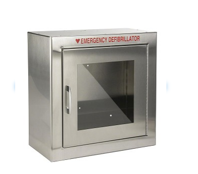 Stainless AED Wall cabinet - On Sale