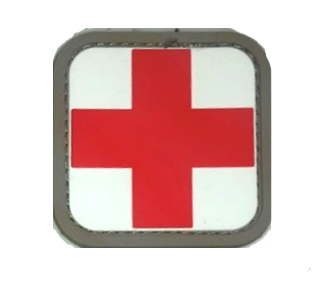 Red Cross PVC Patch 5.00
