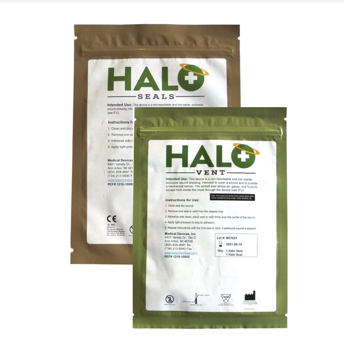 Halo Chest Seals (2-pack) $15.95 - $19.70