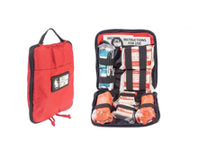 UCLA HEALTH AED CABINET Twin Bleeding Control kits