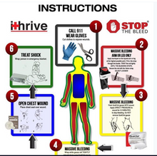 * STOP THE BLEED® Kit by iTHRIVE® (CAT)