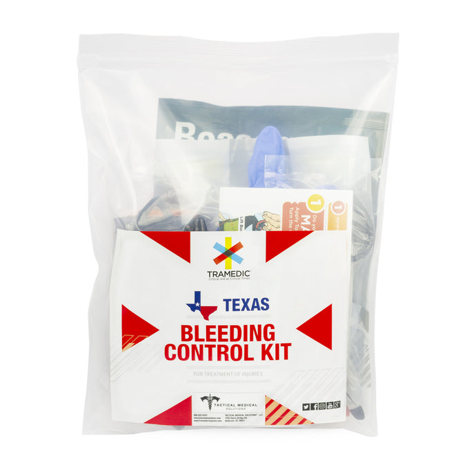 TEXAS School District Bleeding Control Kit