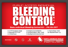 NAR - Bleeding Control Kit - Customized for UCLA AED Cabinets