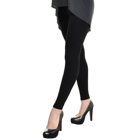 15b3829a502268 Angelina Seamless Footless Leggings with Winter Warmth Plus Lining ...
