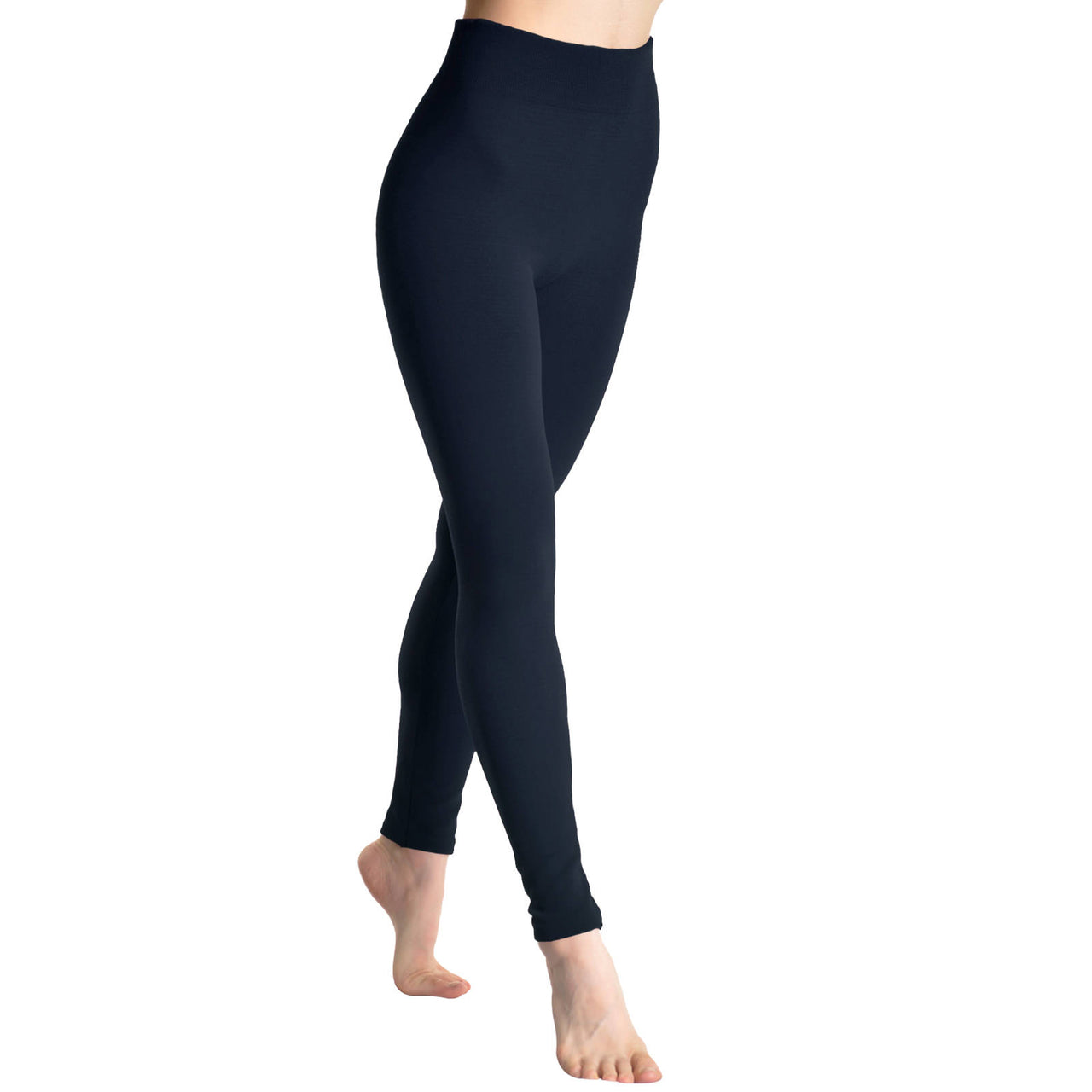 ea94dcfdf Angelina Seamless Footless Leggings with Winter Warmth Plus Lining ...