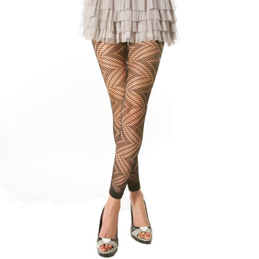 1f74312deb753 Footless Tights with Knit Pattern Design (1-Pack)