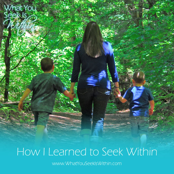 How I Learned to Seek Within