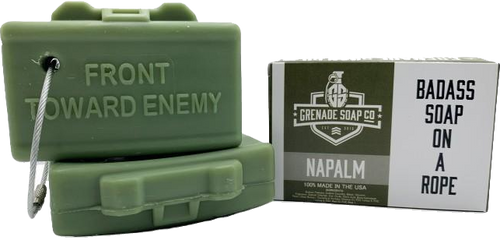 CLAYMORE SOAP™ in Napalm - 3 bar subscription