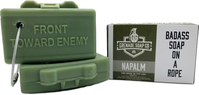 GRENADE SOAP CO™ - CLAYMORE SOAP™ in Napalm