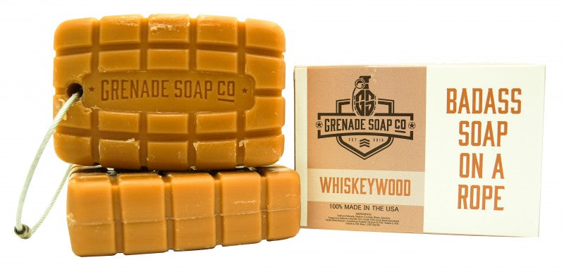 Grenade Soap in WHISKEYWOOD - 3 bar subscription