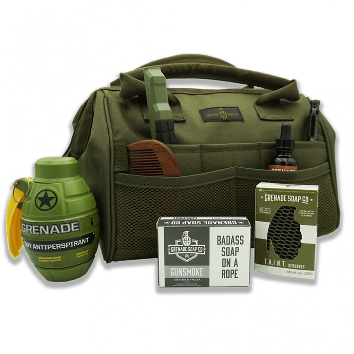 GRENADE SOAP CO™ COMPLETE DOPP KIT