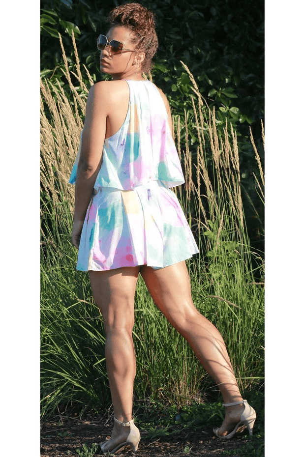 vendor-unknown Romper KELIS Floral Romper- Final Sale