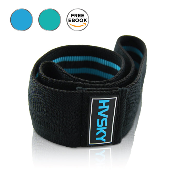Premium Resistance Hip Band - Blue (L/XL)
