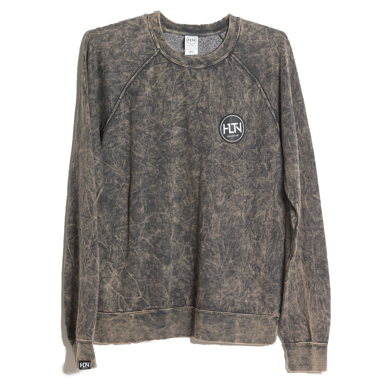 BLACKSAND MINERAL WASH PULLOVER