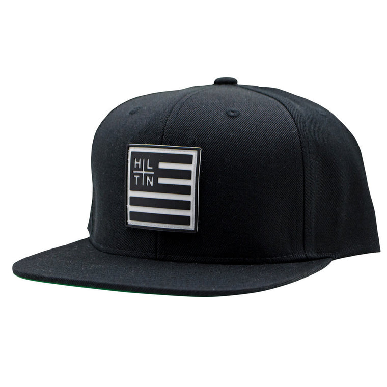 FLAG HAT—BLACK