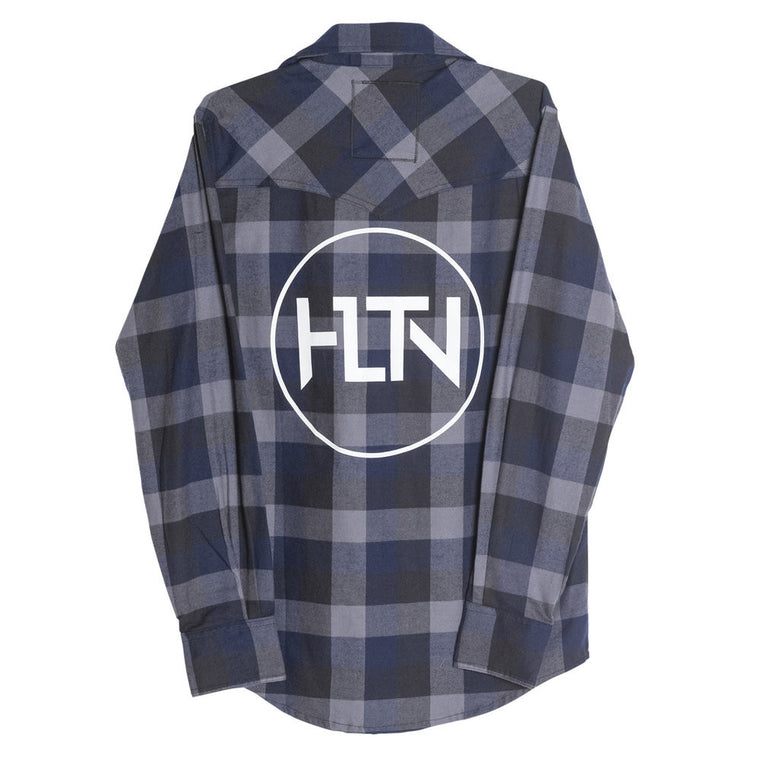 TRIBUTE FLANNEL—NAVY
