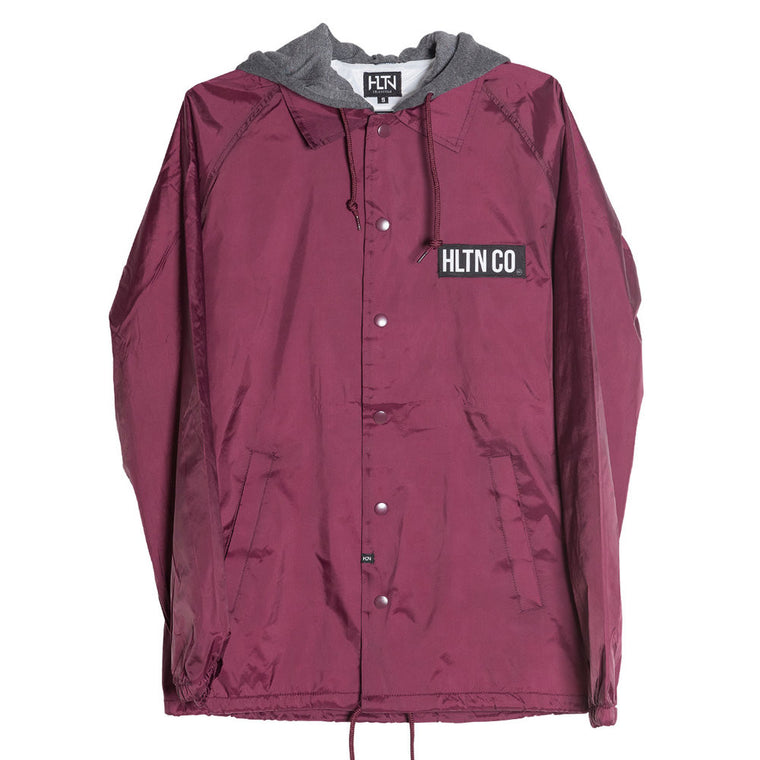 THE DAN JACKET—BURGUNDY (NO LONGER SHIPS WITH HOOD)