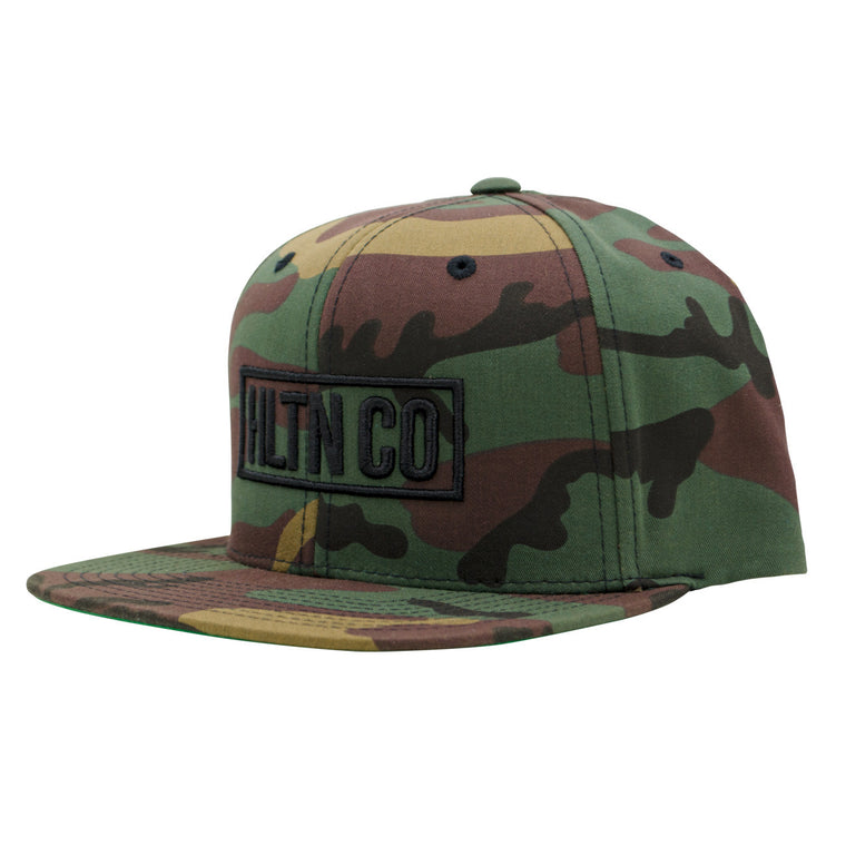 STAMPED HAT CAMO
