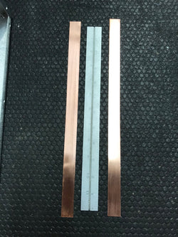 Copper Strap for RF Deck