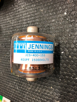 Jennings Vacuum Capacitor Plate Block 400pf  15,000 volts