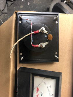 Panel meter 4 in x 5 in. 1 ma full scale