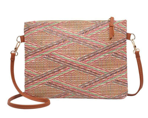 Multicolored Messenger Handbag