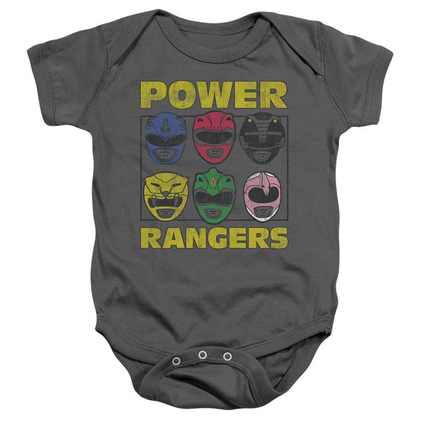 POWER RANGERS/RANGER HEADS