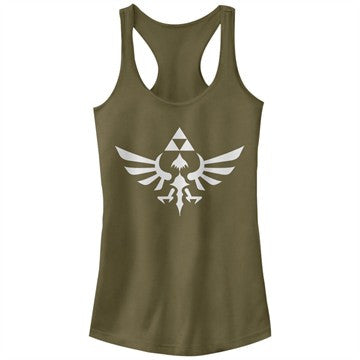 Zelda Skyward Crest Tank Top Juniors T-Shirt
