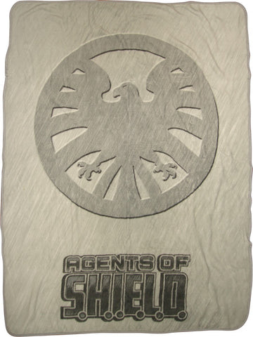 AGENTS OF SHIELD  Agents Logo Blanket