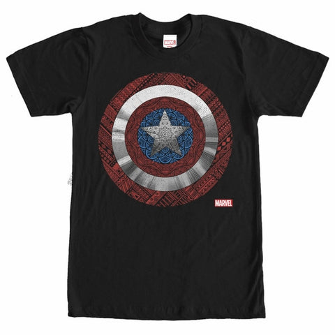 Captain America Elaborate Shield T-Shirt