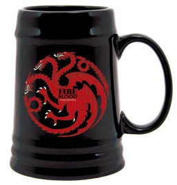 Game of Thrones Targaryen Sigil Stein Mug
