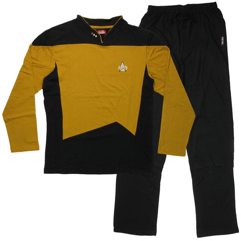 Star Trek Next Generation Operations/Security Pajama Set