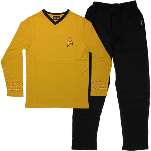 Star Trek Security Officer Pajama Set