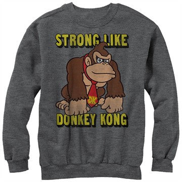 Donkey Kong Strong Sweatshirt