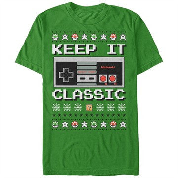 Nintendo Keep it Classic Sweater T-Shirt