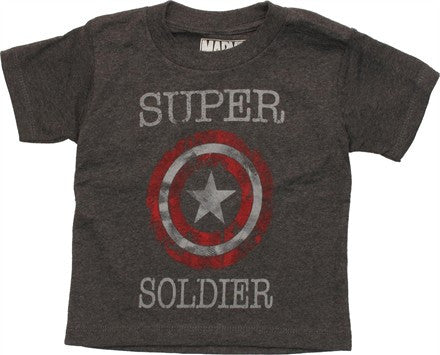 Captain America Super Soldier Toddler T-Shirt