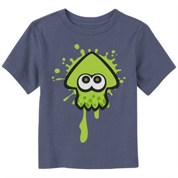 Splatoon Green Squid Toddler T-Shirt