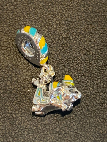 Pandora Disney Parks Mickey and Dumbo the Flying Elephant Charm