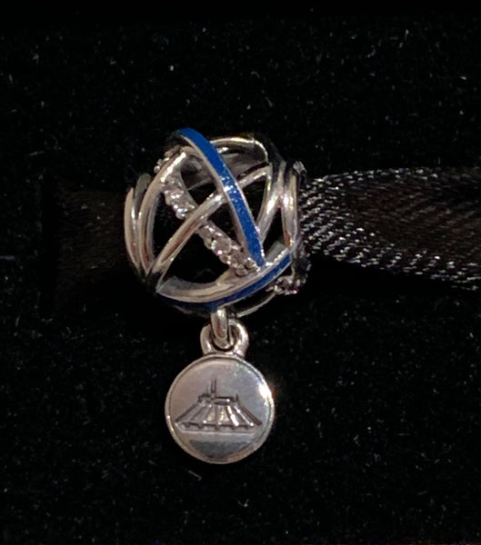 Disney Parks Pandora Space Mountain Dangle Charm 2020