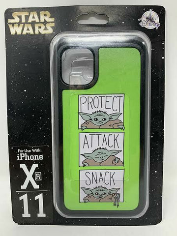Disney Parks The Child iPhone XR 11 Case Protect Attack Snack Star Wars Dtech