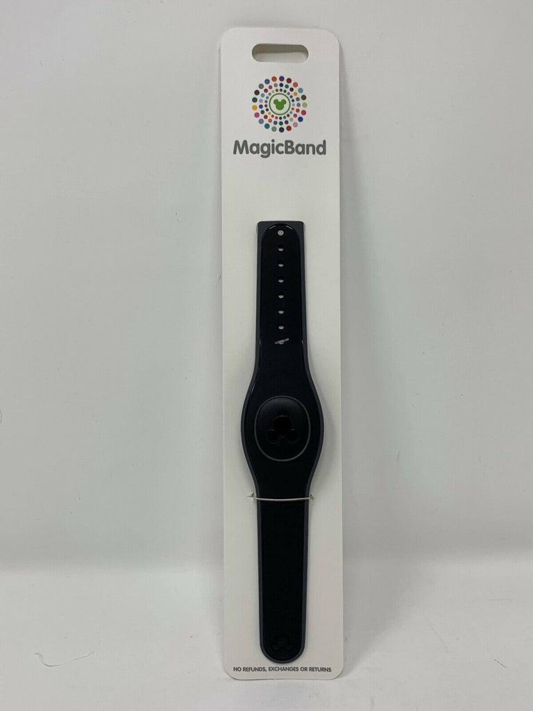 Disney Parks Black Magic Band 2 MagicBand NIP Ready to Link Solid Color
