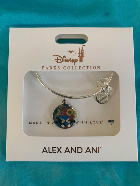 Alex and Ani 2020 Disney Parks Mickey Minnie Bracelet Bangle