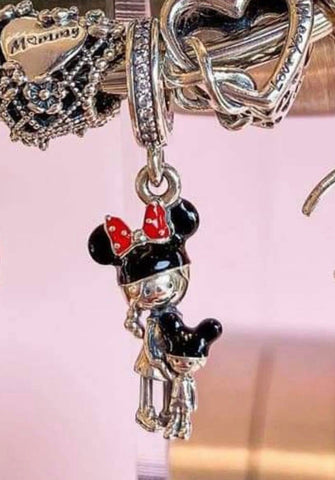 Pandora Disney Parks Mom and Child Charm