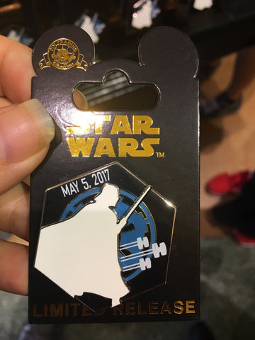 Star Wars Revenge of the 5th pin Disney Parks