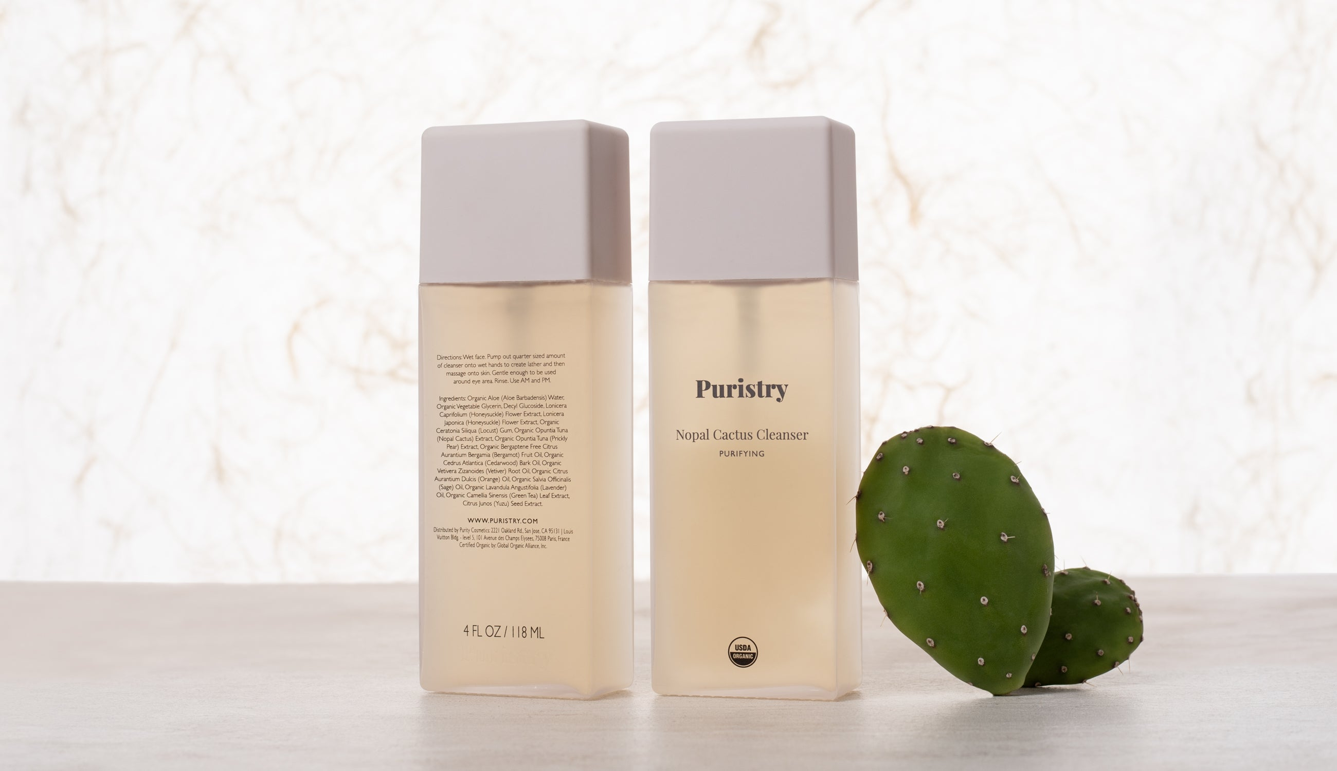 Nopal Cleanser - Front and Back